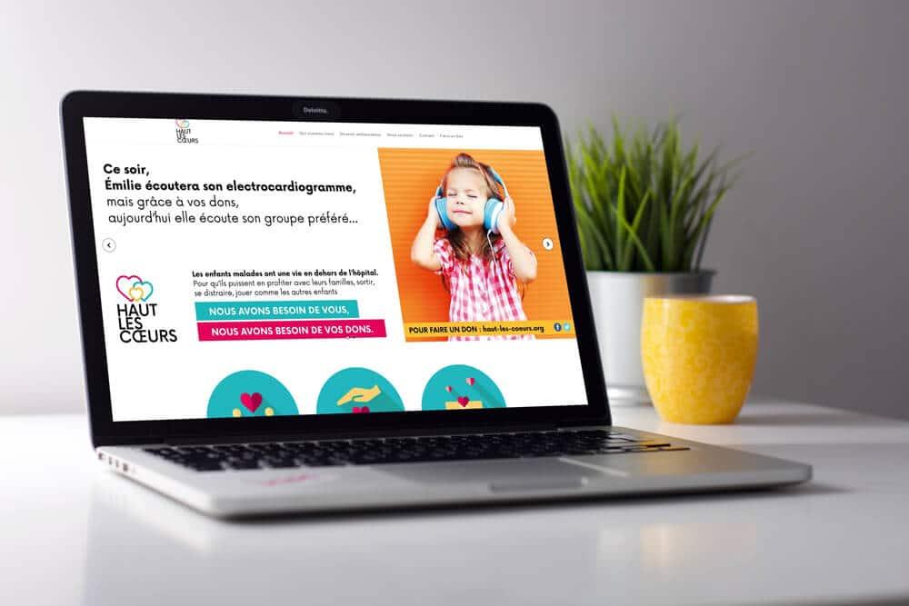 site web resposive djaka agence web à Montpellier