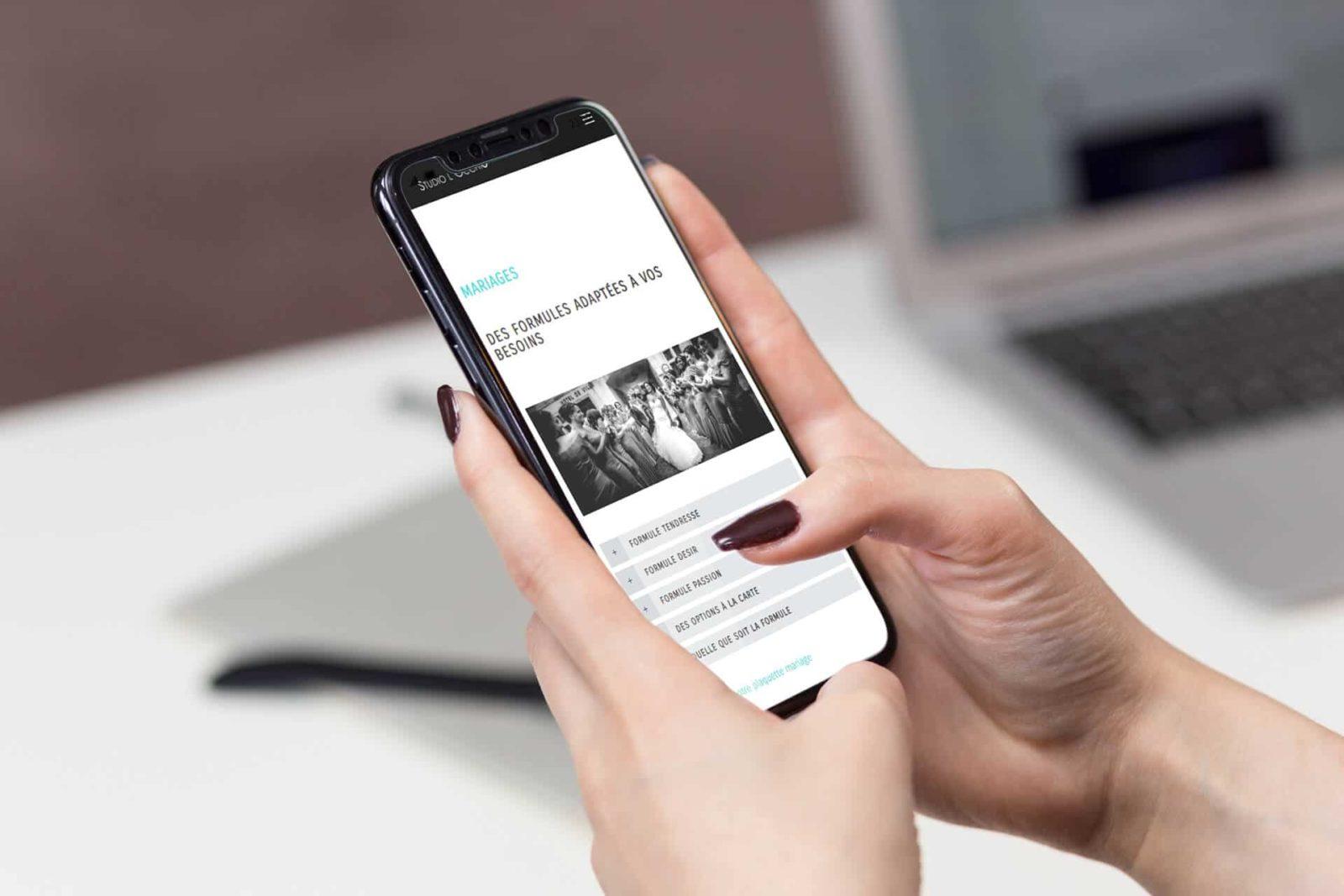 studio locchio site internet responsive par djaka agence web Montpellier